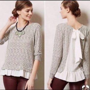 Anthropologie Cru + Willoughby shirt